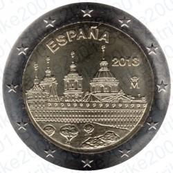 Spagna - 2€ Comm. 2013 FDC Escorial