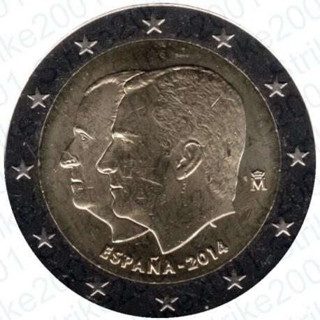 Spagna - 2€ Comm. 2014 FDC Filippo VI