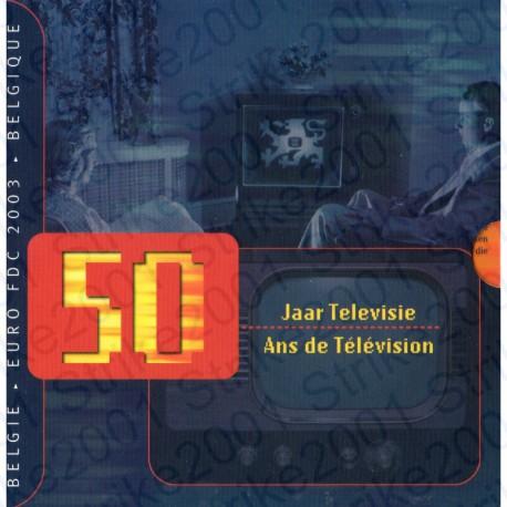 Belgio - Divisionale Ufficiale 2003 FDC