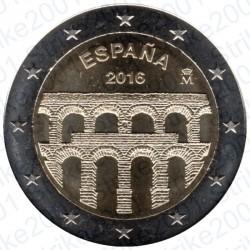 Spagna - 2€ Comm. 2016 FDC Segovia
