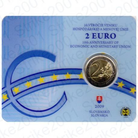 Slovacchia - 2€ Comm. 2009 FDC EMU in Folder
