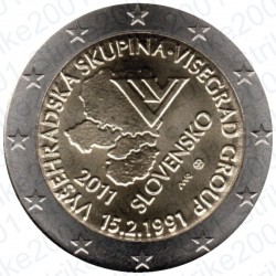 Slovacchia - 2€ Comm. 2011 FDC Visegrad
