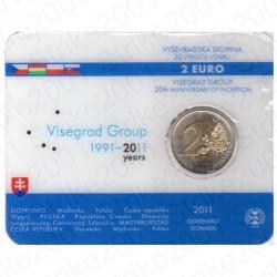 Slovacchia - 2€ Comm. 2011 FDC Visegrad in Folder