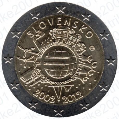 Slovacchia - 2€ Comm. 2012 FDC Anniversario