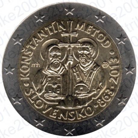 Slovacchia - 2€ Comm. 2013 FDC Cirillo e Metodio