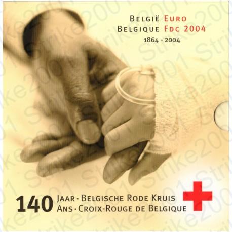 Belgio - Divisionale Ufficiale 2004 FDC