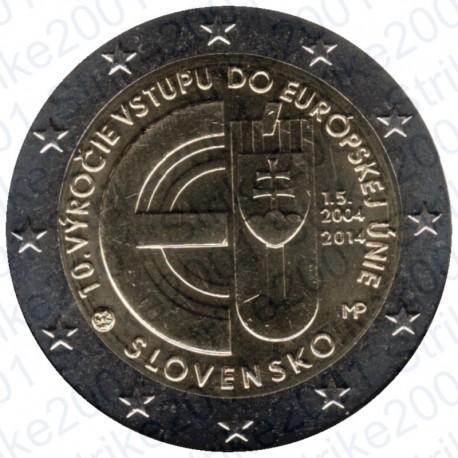 Slovacchia - 2€ Comm. 2014 FDC Ingresso Unione Europea