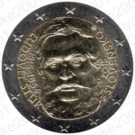 Slovacchia - 2€ Comm. 2015 FDC Ľudovít Štúr