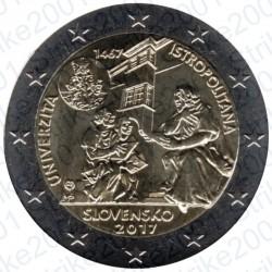 Slovacchia - 2€ Comm. 2017 FDC Accademia