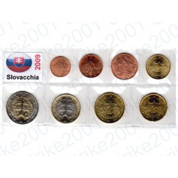Slovacchia - Blister 2009 FDC