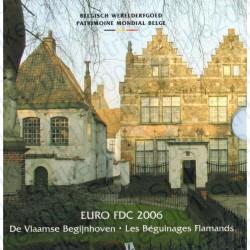 Belgio - Divisionale Ufficiale 2006 FDC