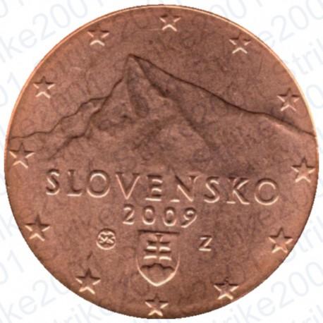 Slovacchia 2009 - 1 Cent. FDC