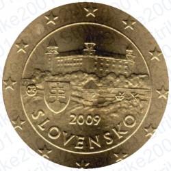 Slovacchia 2009 - 10 Cent. FDC