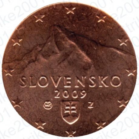 Slovacchia 2009 - 2 Cent. FDC