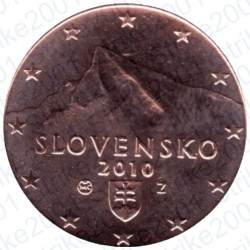 Slovacchia 2010 - 2 Cent. FDC