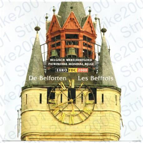 Belgio - Divisionale Ufficiale 2008 FDC