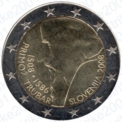 Slovenia - 2€ Comm. 2008 FDC Primoz Trubar