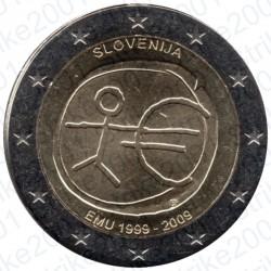 Slovenia - 2€ Comm. 2009 FDC EMU