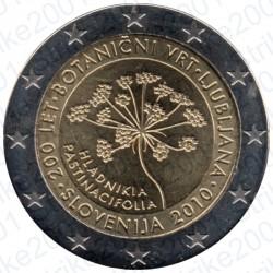 Slovenia - 2€ Comm. 2010 FDC Orto Botanico