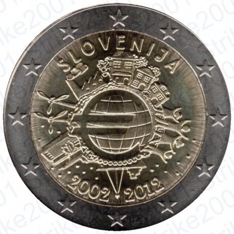 Slovenia - 2€ Comm. 2012 FDC Anniversario