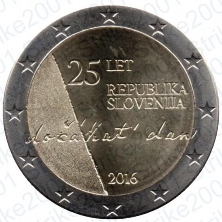 Slovenia - 2€ Comm. 2016 FDC Ind. Repubblica Slovena