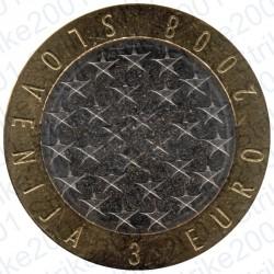 Slovenia - 3€ 2008 FDC Presidenza Europea