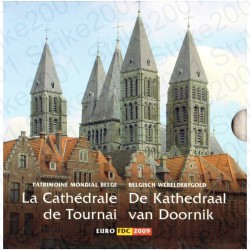 Belgio - Divisionale Ufficiale 2009 FDC