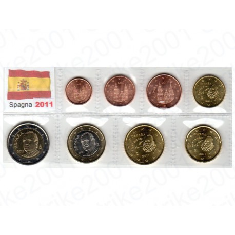 Spagna - Blister 2011 FDC