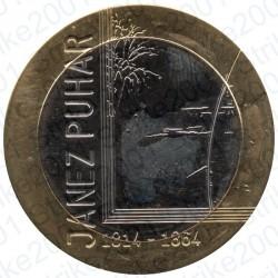 Slovenia - 3€ 2014 FDC Janez Puhar