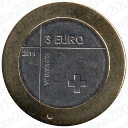 Slovenia - 3€ 2016 FDC Croce Rossa Slovena