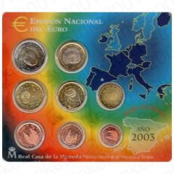 Spagna - Divisionale Ufficiale 2003 FDC