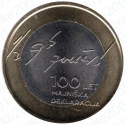 Slovenia - 3€ 2017 FDC Dichiarazione di Maggio