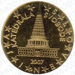 Slovenia 2007 - 10 Cent. FDC