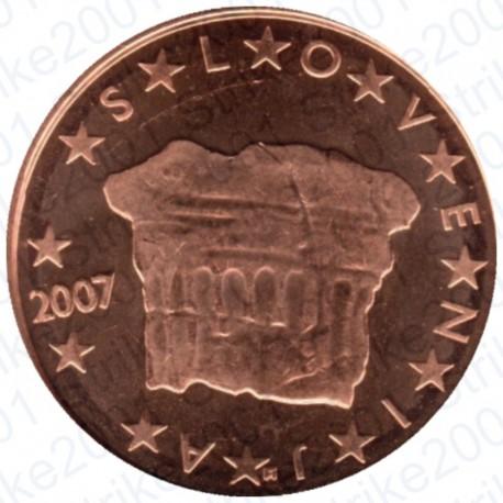 Slovenia 2007 - 2 Cent. FDC