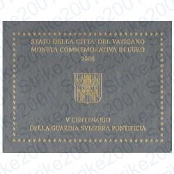 Vaticano - 2€ Comm. 2006 FDC Guardia Svizzera
