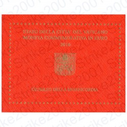 Vaticano - 2€ Comm. 2016 FDC Misericordia in Folder