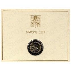 Vaticano - 2€ Comm. 2017 FDC San Pietro e Paolo in Folder