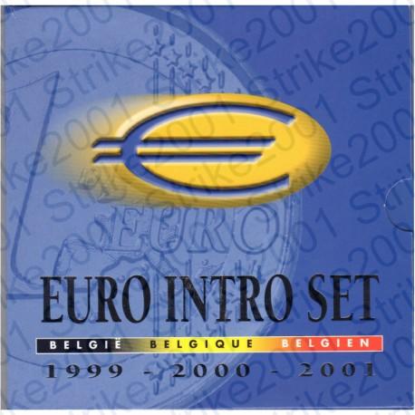 Belgio - Divisionale Ufficiale Introset 99-00-01 FDC
