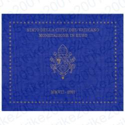 Vaticano - Divisionale Ufficiale 2007 FDC