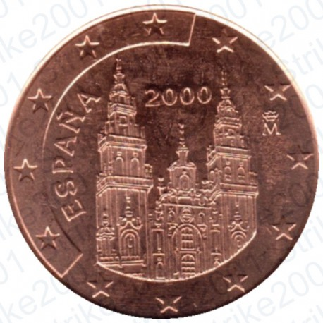 Spagna 2000 - 1 Cent. FDC