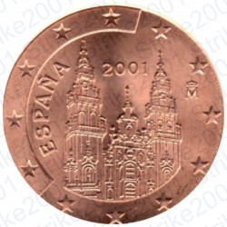 Spagna 2001 - 2 Cent. FDC