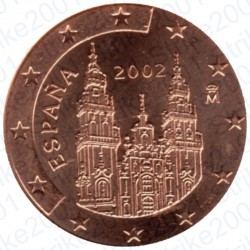Spagna 2002 - 2 Cent. FDC