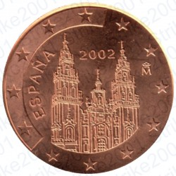 Spagna 2002 - 5 Cent. FDC
