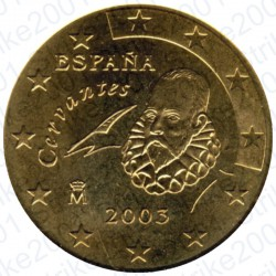 Spagna 2003 - 50 Cent. FDC