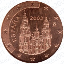 Spagna 2003 - 1 Cent. FDC