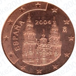 Spagna 2004 - 1 Cent. FDC