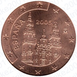 Spagna 2005 - 2 Cent. FDC