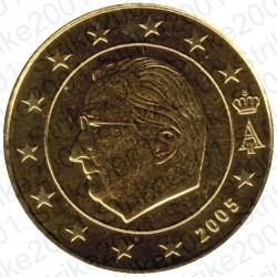 Belgio 2005 - 10 Cent. FDC