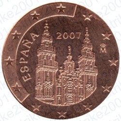 Spagna 2007 - 2 Cent. FDC