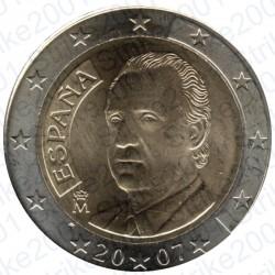 Spagna 2007 - 2€ FDC